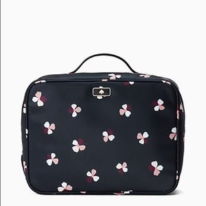 Kate Spade Dawn Dusk Buds Ditsy Cosmetic Bag